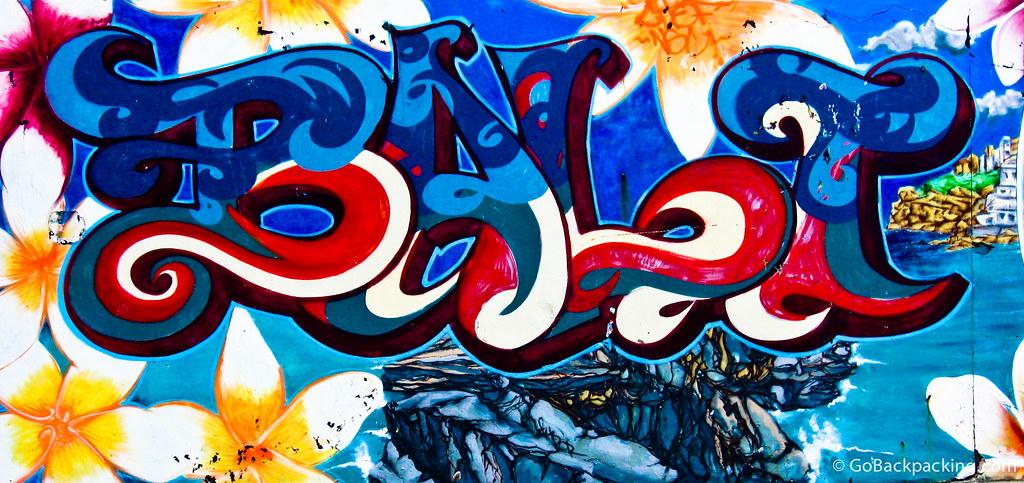 Graffiti at Bondi Beach, Australia