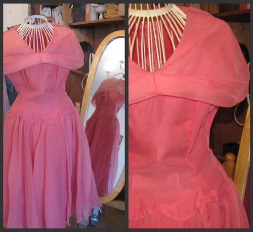 PINK PARTY DRESS by Vintage Vision