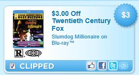 Slumdog Millionaire On Blu-ray Coupon