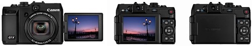 Canon G1 X -- Articulating LCD