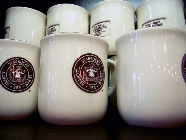 Original Starbucks Shop Mugs