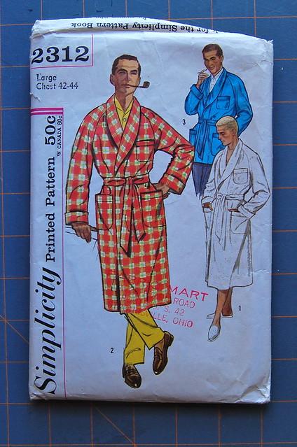 vintage men's robe