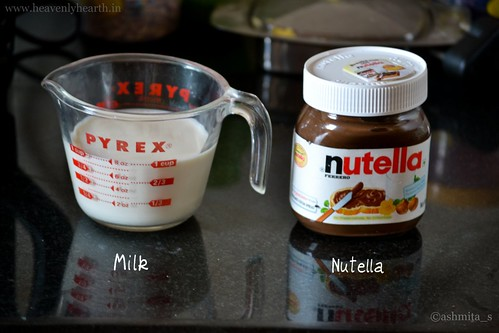 Nutella Hot Chocolate Ingredients
