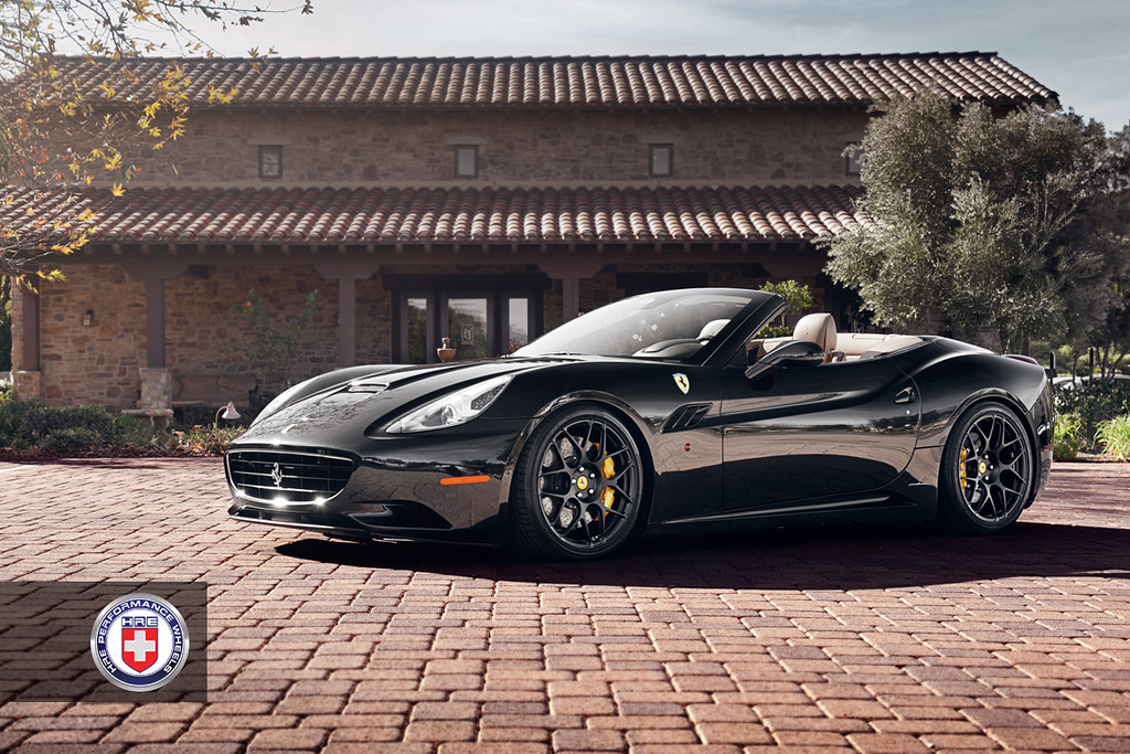 Ferrari California for HRE Wheels