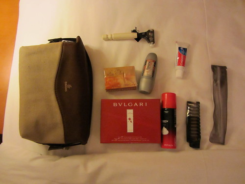 Emirates amenity kit business class