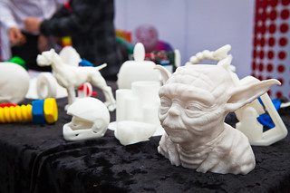 3D printing systems - output - love the Yoda