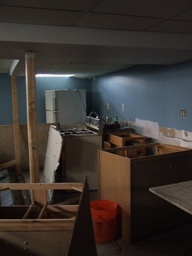 Basement Bar Demolition