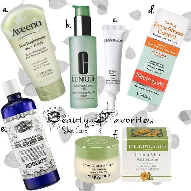 Beauty Favorites Skin Care