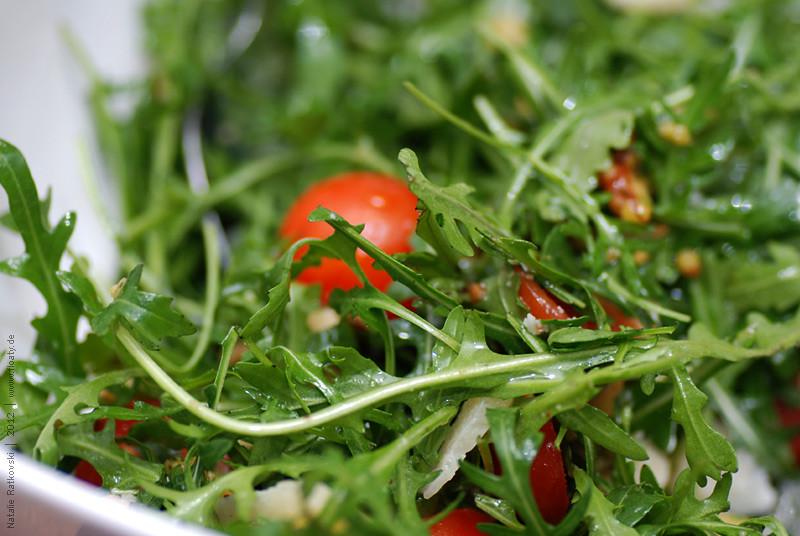 Rucola salad, yummy :-)
