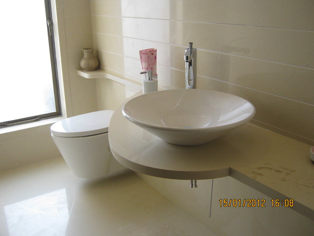 Toilet - Show flat of Pittie Kourtyard, 2 BHK & 3 BHK Flats at Kharadi, Pune 411 014