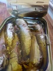 filets de sardines aux truffes noires