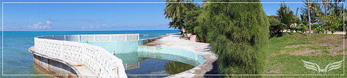 The Establishing Shot: James Bond Thunderball Film Location - Emilio Largo's Palmyra Estate Shark Pool - Rock Point, New Providence Island, Bahamas by Craig Grobler
