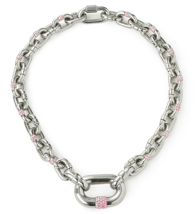7 - JC Santa Barbara necklace Pink