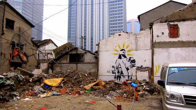 stencil shanghai 2012 - künstler unbekannt