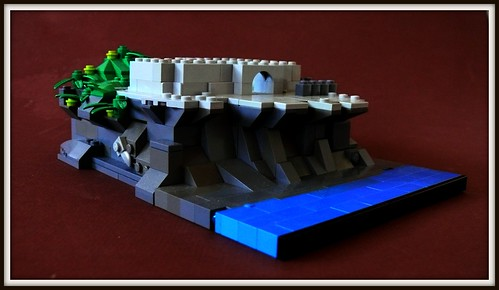 LEGO Oceanside Castle Micro-scale (5)