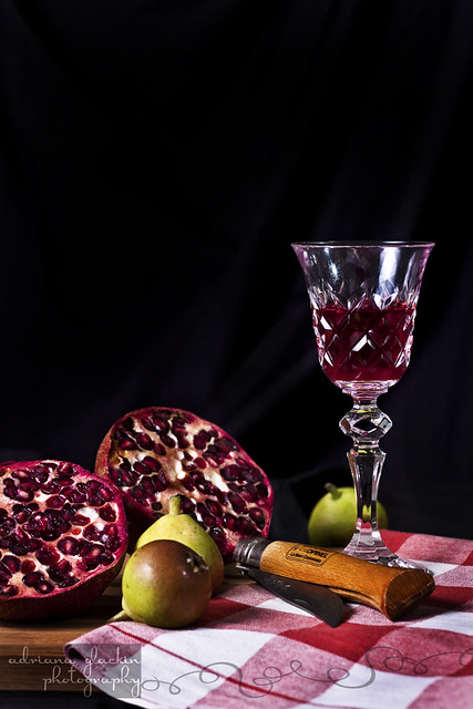 ~ still life with pomegranate ~