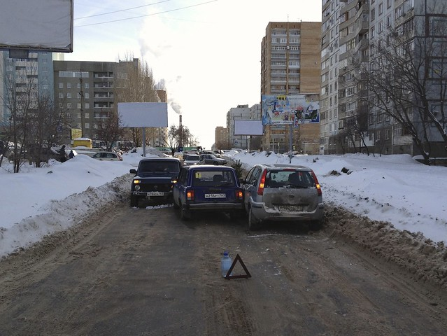 Автокатастрофа в Самаре