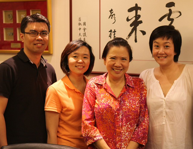 Philip, Serene, Anastasia Liew and I at Bengawan Solo's office