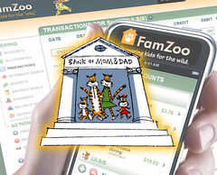 FamZoo's Online Bank Of Mom/Dad