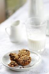 Biscuits au chocolat et flocons d'avoine