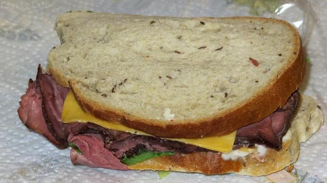 London Special sandwich