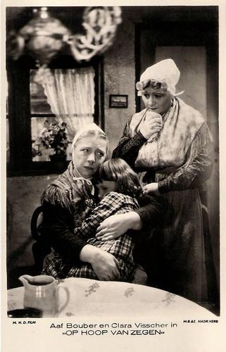 Aaf Bouber and Clara Visscher in Op hoop van zegen (1934)