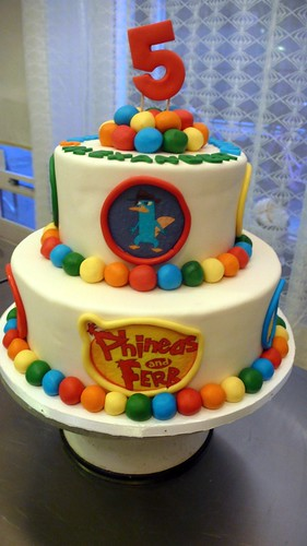 Phineas and Ferb Cake by CAKE Amsterdam - Cakes by ZOBOT