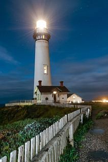The last lighting | Pigeon Point lighthouse