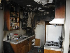 Kitchen Fire Endangers & Displaces Hollywood Family. Click to learn more about this Creative Commons licensed image...