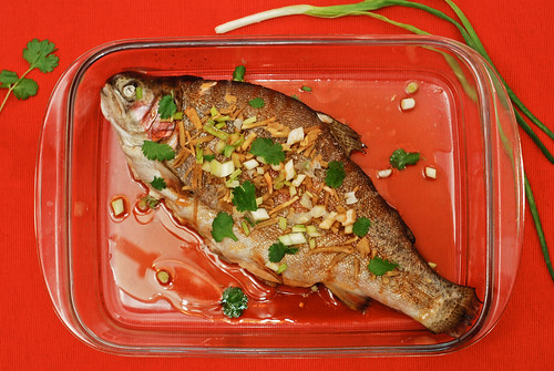 kantoni kala/Kanton style fish for chinese new year