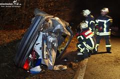 Verkehrsunfall Lahnstraße 21.01.12