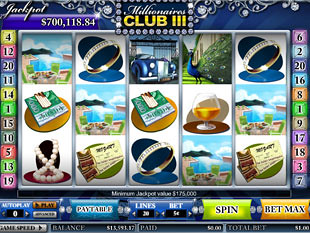 Millionaires Club 3 Slots slot game online review