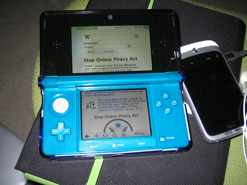 The Nintendo 3DS Internet browser is super smooth by Kim Bach