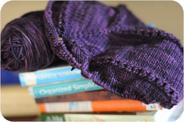 January 25 Yarn Along