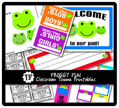 Froggy Fun Classroom Theme