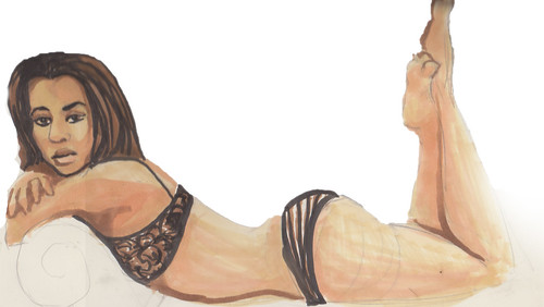 12 Dr Sketchy Marathon 01.21.12 by greyother