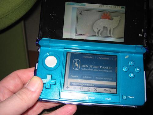 Den Store Danske på Nintendo 3DS by Kim Bach