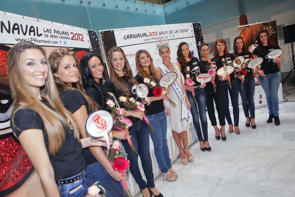 Fotos de las candidatas a reina del carnaval 2012 de las for Fred olsen telefono oficina las palmas