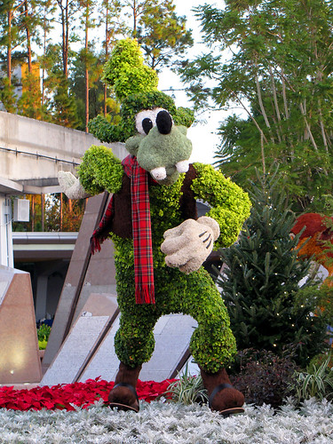 Goofy Topiary
