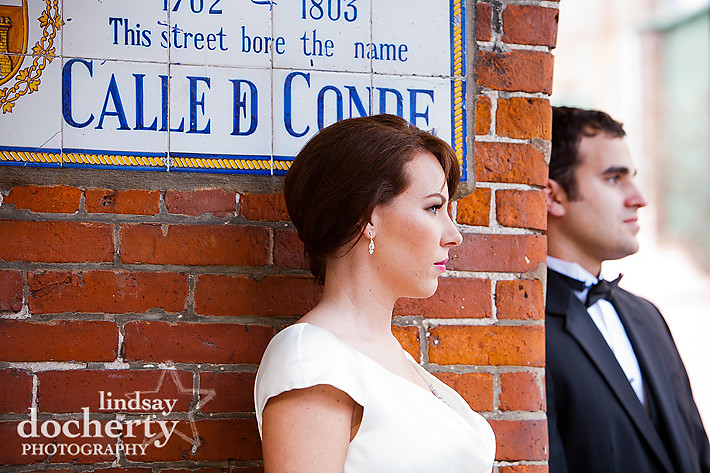 New Orleans wedding photo shoot at DWF Convention