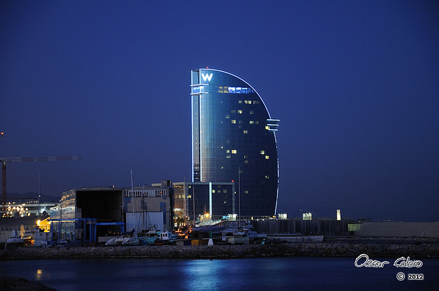 Hotel w barcelona hotel vela flickr photo sharing for Hotel vela de barcelona
