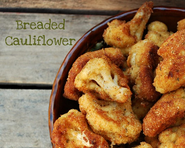 Breaded Cauliflower 2