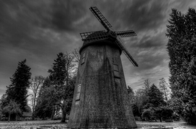 Windmill at Marymoor Park