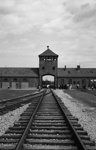 Auschwitz from life of Primo Levi