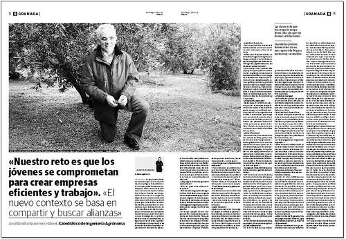 Entrevista a José Emilio Guerrero-Ginel.