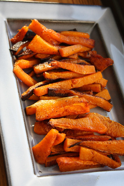Baked Butternut Squash Fries - Home - Kiss My Whisk