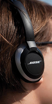 Bose on-ear audio headphones OE2 and OE2i.