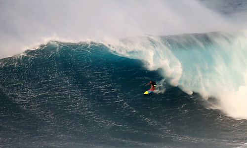 Jeff Rowley Big Wave Surfer Barrel Jaws Peahi by Xvolution Media