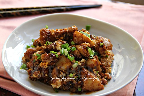 Stir-fried Yam Cake
