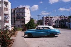 Edificios rusos construidos en los 70 en el reparto Virginia utilizando tecnología rusa Gran Panel i-464, Santa Clara, Cuba